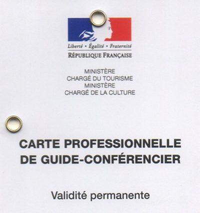 Guide Conférencier, Guide Touristique